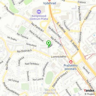 Restaurace Na Klikovce na mapě