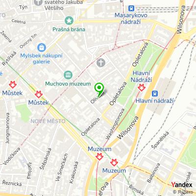 Personální agentura Sauter Consulting Group na mapě