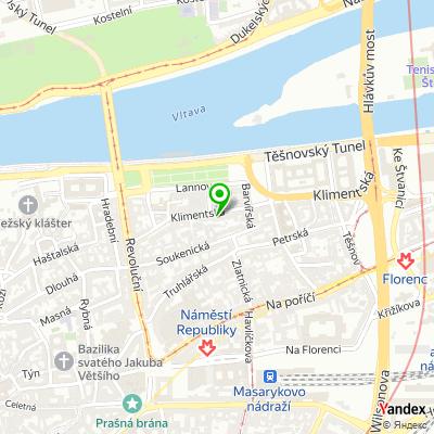 Obchod Pragomodel na mapě