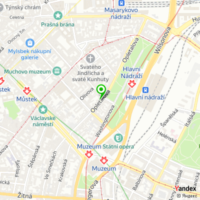 Městská policie hlavního města Prahy, Praha 1 na mapě