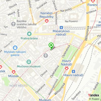Cestovní kancelář Prague International na mapě