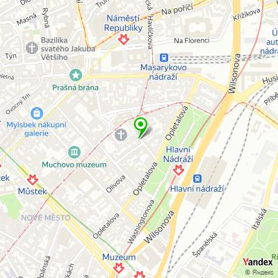 Základní škola Vodičkova na mapě