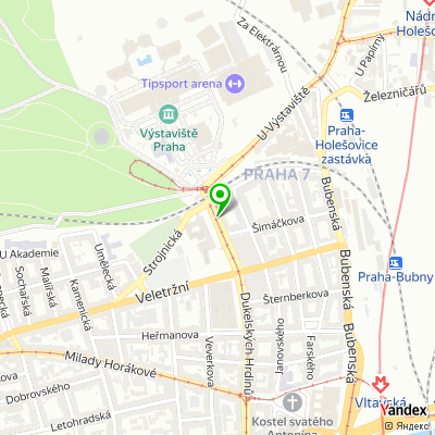 Nezisková organizace Domov Sedlec SPMP na mapě