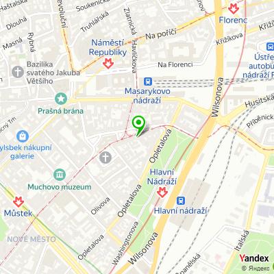 Lékárna U Fontány na mapě