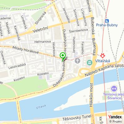 Telekomunikační společnost T-Mobile na mapě