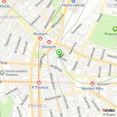 Developerská společnost REFLECTA Development na mapě