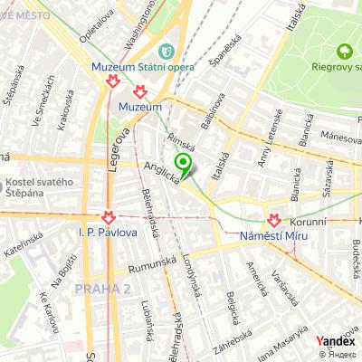 Cateringová společnost Express Deli na mapě