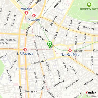 Kavárna Choco Loves Coffee na mapě
