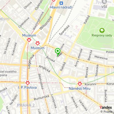 IT-společnost Pipni na mapě