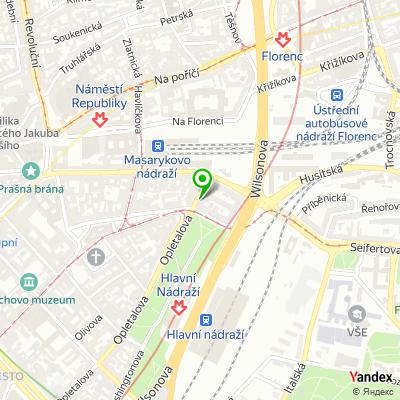 Společnost Surpmo na mapě