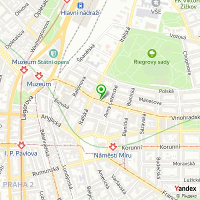 Pizzerie Red Flower na mapě