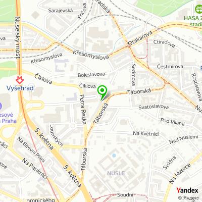 Obchodně servisní společnost REGULA Komunikační systémy na mapě