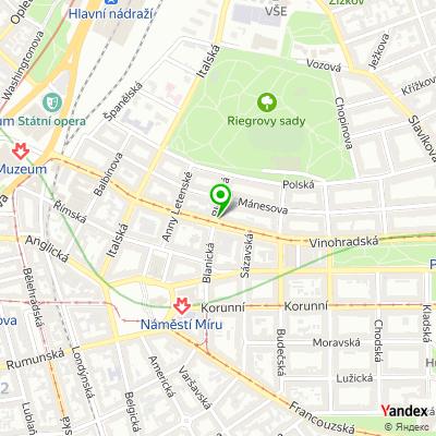 Školící centrum Studio Visage na mapě
