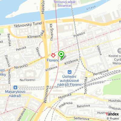 Obchod Swend na mapě