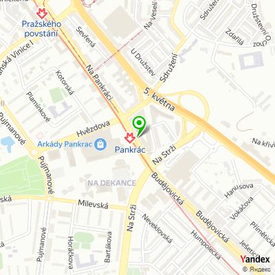 Lékárna WPK na mapě