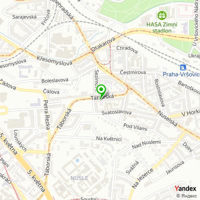 Střední odborné učiliště služeb, Praha 9 na mapě