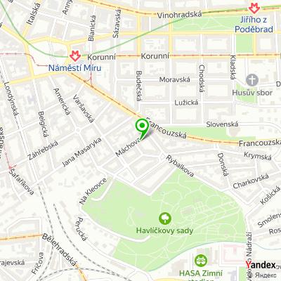 Společnost Savino & Partners na mapě