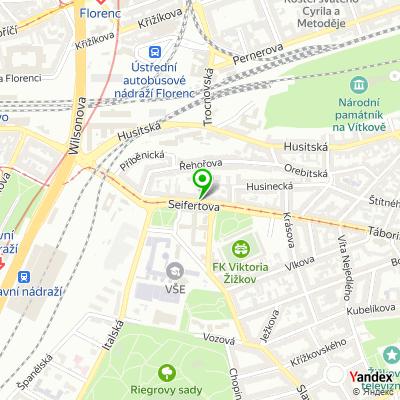 Restaurace Poja na mapě
