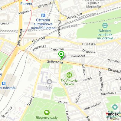 Stavební firma Karel Jílek, OSVČ na mapě