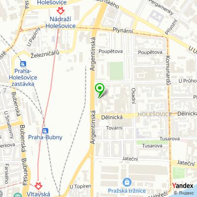 Síť obchodů Sanu Babu na mapě