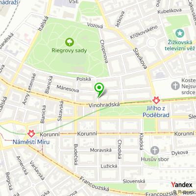 Poradenská společnost Regina Sieber & Co. na mapě