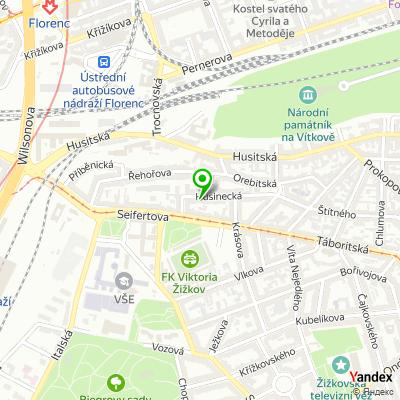 IT-společnost Radecon na mapě