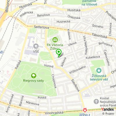 Restaurace Kopyto na mapě