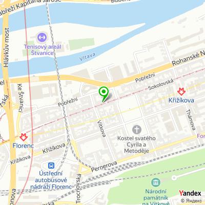 IT-společnost Praguebest na mapě