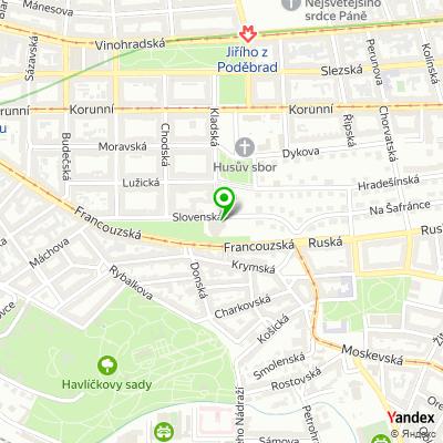 Kadeřnický salon Joshua na mapě