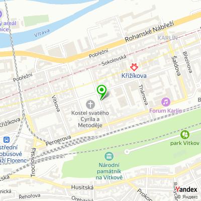 Stavební bytové družstvo POKROK na mapě