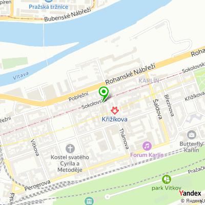 Obchodní společnost XINTEX na mapě