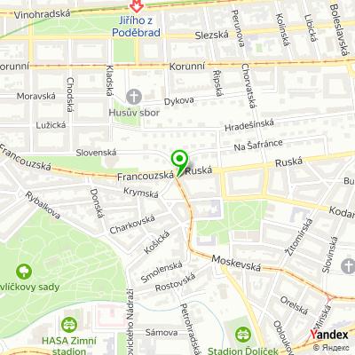 Restaurace Ambrozie na mapě