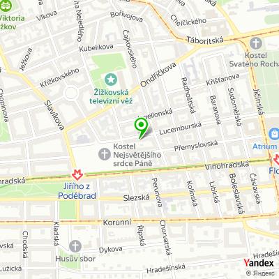 Obchod Parfémy SP na mapě