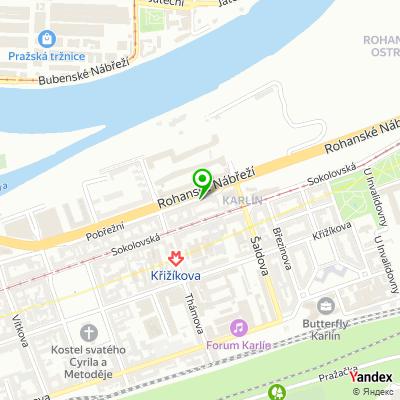 Pohřební ústav hlavního města Prahy na mapě
