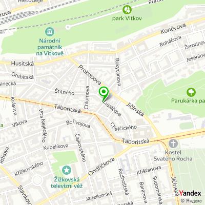Úřad městské části, Praha 3 na mapě