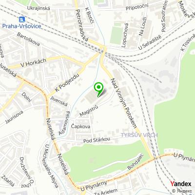 Obchod P-RONIC na mapě