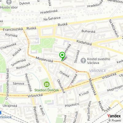 Bankomat, Raiffeisenbank, a.s. na mapě