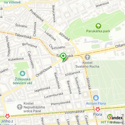 Centrum aktivit pro seniory Klub REMEDIUM Praha na mapě