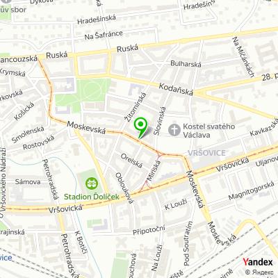 Obchod Sup a synové na mapě
