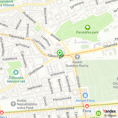 Fitness klub Kutil Gym na mapě