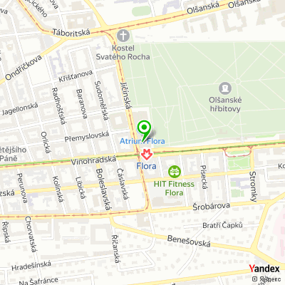 Bankomat, Air Bank, a.s. na mapě