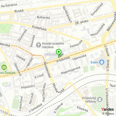 Restaurace rychlého občerstvení Kohi-noor na mapě