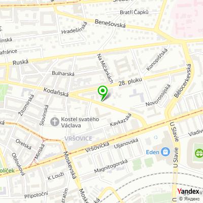 Realitní kancelář RealExpert na mapě