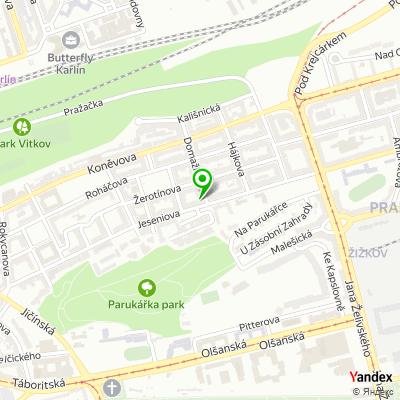 Polygrafická společnost Pré na mapě