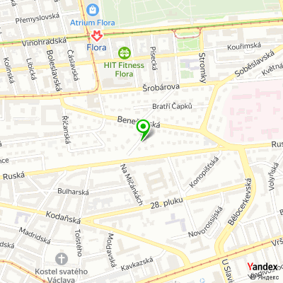 Společnost Atweb Consulting na mapě