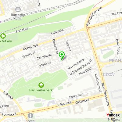 Pizzerie Persona na mapě