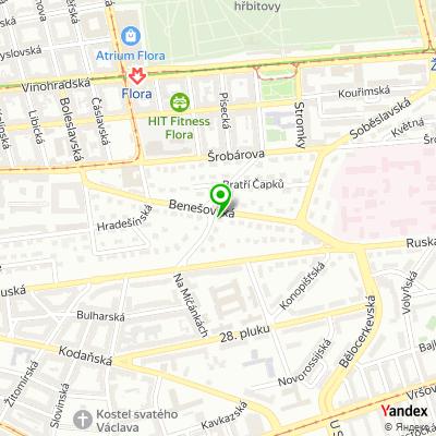 Marketingová společnost Quent na mapě