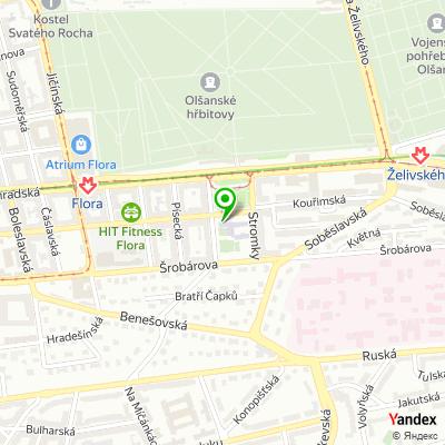 Mateřská škola Jiřího z Lobkovic na mapě