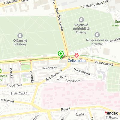 Obchodní společnost Tenax na mapě