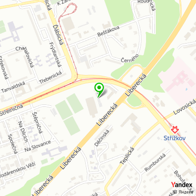 Dopravní společnost PETROTRANS na mapě